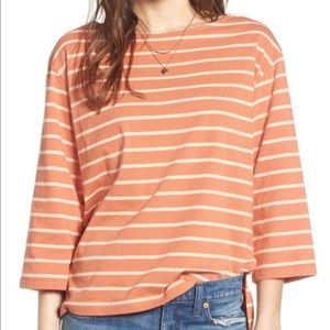 Madewell Striped Boatneck Top - WORN ONCE